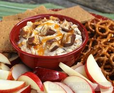 Snickers Dip | The Cooking Mom