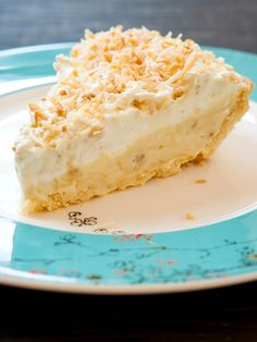Today is National Coconut Cream Pie Day.