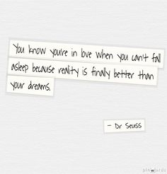 Wedding Quotes | Dr Seuss... not just for the kids