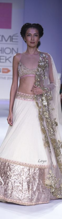 Anushree Reddy Fall/Winter 2014❋Laya India Fashion Week, Lakme Fashion Week, Asian Fashion, Fashion Show, Fashion Outfits, Outfit Essentials, Indian Bridal Lehenga, Indian Bridal Wear, Traditional Fashion