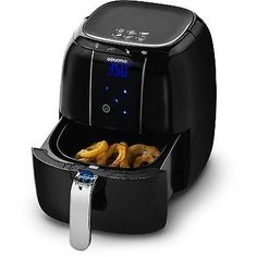 Gourmia GAF520 Electric Air Fryer, 4 Preset Functions, LED, Fry Basket, 4.5 Qt.