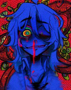 Ziggy_1366  original charecter  Ziggy Falsh Emo Art, Goth Art, Cute Art Styles, Cartoon Art Styles, Psychedelic Art, Art Inspiration Drawing, Art Inspo, Grunge Art, Arte Obscura