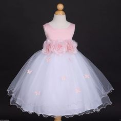 macchy vestidos / de fiesta para niñas, promoción, cumpleaño Wedding Flower Girl Dresses, Wedding Bridesmaid Dresses, Wedding Party Dresses, Party Wedding, Girls Pageant Dresses, Little Dresses, Little Girl Dresses, Toddler Flower Girls, Baby Gown