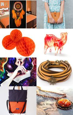 Orange Collection by Kate Zatserkovna on Etsy--Pinned with TreasuryPin.com