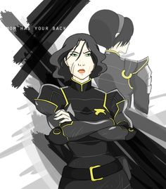 You know any kid of Toph's would be someone to be reckoned with.
