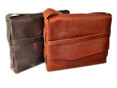 Rustic Leather Survivor Shoulder Bag