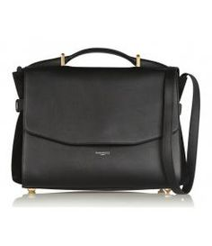 Lutece Leather & Suede Shoulder Bag