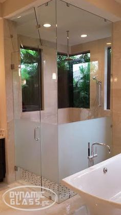 Dynamic Glass, inc. - Venice Florida - Bathroom Shower Enclosures, Custom Shower Enclosures, Frameless Shower Enclosures