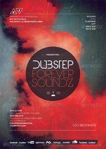 dubstep free flyer