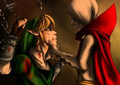 Legend of Zelda - Link and Ghirahim *