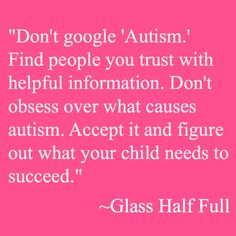 If your child was just diagnosed with autism - Childswork-Childsplay BlogChildswork-Childsplay Blog