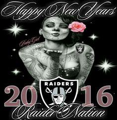 Happy New Years 2016 Raider Nation