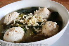 chicken meatball soup chicken bakso more bakso noodle meatball soup ...