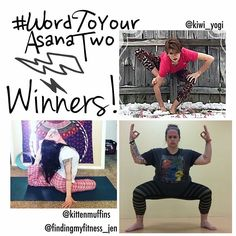 Hey hey #WordToYourAsanaTwo peeps!...We have winners! Thank you so much to all our amazing participants who helped make this little challenge an incredibly fun friendly & creative!!! LOVE you all  After much deliberation our three fabulous winners have been chosen.... @kiwi_yogi  a gift from @yogacrossing   @kittenmuffins  a gift from @shopdharmacrafts   @findingmyfitness_jen  a gift from @drishtihandmade   And a special congrats from your hosts @julia_gulia3 @naptimeyogi21 @morissa_yoga to…