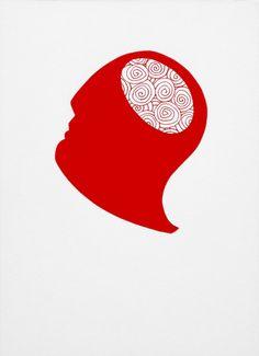 """andrea mattiello """"lo specchio degli ignoranti"""" pennarello e collage su cartoncino cm 25x35; 2013 #arte #art #artecontemporanea #drawing #disegno #collage #paper"""