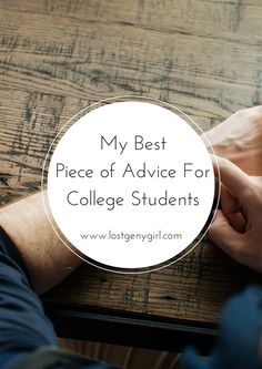 My Best Piece of Advice For College Students: Prepare For Career Success - gen y girl College Success, Career Success, College Hacks, Career Advice, College Life, College Essentials, Dorm Life, Online College, Education College