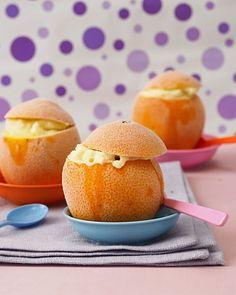 Eis selber machen: Orangeneis in der Orange
