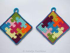 topflappen im romantik style selber h keln crochet pinterest. Black Bedroom Furniture Sets. Home Design Ideas