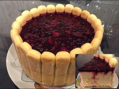Tort diplomat cu budinca de vanilie, ananas  si fructe de padure 1 Food And Drink, Make It Yourself, Ethnic Recipes, Desserts, Youtube, Sweets, Kitchens, Tailgate Desserts, Deserts