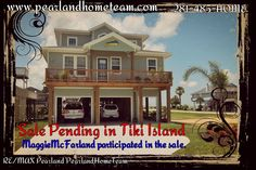 Congratulations to my client's Adrienne and Tommy for the BEAUTIFUL home they are purchasing in Tiki Island!  Give the PearlandHomeTeam a call if you are interested in buying, selling or leasing @ 281-485-HOME. www.pearlandhometeam.com. We service all the surrounding areas! #tikiisland   #forsale  #galveston   #pearlandhometeam   #remax   #remaxagent   #blessed