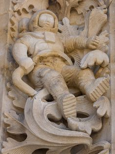 Cathedral of Salamanca's Astronaut – Salamanca, Spain | Atlas Obscura