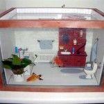 DIY Aquarium Dollhouse Diorama