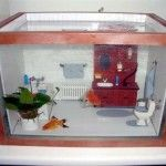 DIY Aquarium Dollhouse Diorama