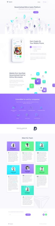 Fragments Homepage by Matus