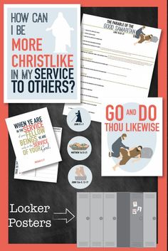 How can I be more Christlike in my service to others?  Awesome LDS teaching package for your class or family!