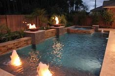 Having a pool sounds awesome especially if you are working with the best backyard pool landscaping ideas there is. How you design a proper backyard with a pool matters. Small Swimming Pools, Small Backyard Pools, Backyard Pool Landscaping, Backyard Pool Designs, Swimming Pools Backyard, Swimming Pool Designs, Outdoor Pool, Outdoor Ideas, Small Backyards