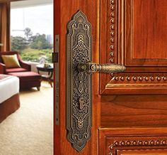 KK304749 Luxurious Mortise Lock Lever Handle Door by amoylimai