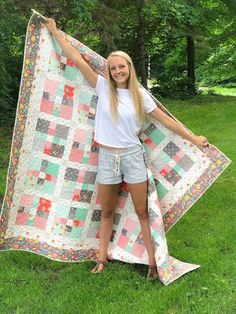 Carried Away Quilting: Harmony: a finished quilt for Haley
