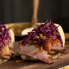Pork belly is never better than when it's sandwiched between steamed buns.