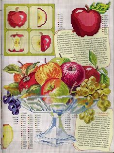 apples cross stitch 4