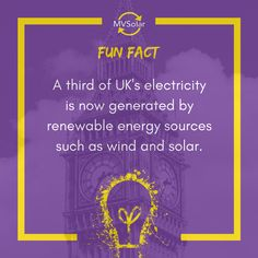 MV Solar Fun Fact: A third of UK's electricity is now generated by renewable energy sources such as wind and solar. Solar Solutions, Renewable Sources Of Energy, Newcastle, Solar Panels, Fun Facts, Third, Sun Panels, Solar Panel Lights, Funny Facts