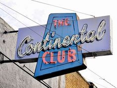 Live jazz at the Continental Club in Austin, TX