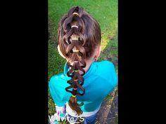 Peinado para niña fácil / Easy harstyle for girls ❤ - YouTube
