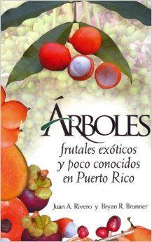 Arboles Frutales Exoticos Y Poco Conocidos En Puerto Rico (Spanish Edition): Juan A. Rivero, Bryan R Brunner, La Editorial Universidad de Puerto Rico: 9780847723461: Amazon.com: Books