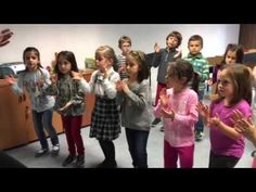Dalcroze Eurhythmics (music and movement education) at Church Street school for Music and Art Preschool Music, Teaching Music, Teaching Kids, Physical Activities For Kids, Music Activities, Music For Kids, Kids Songs, Music Worksheets, Music And Movement