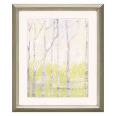 Paragon Decor Whispering Treeline II Framed Wall Art - 7081