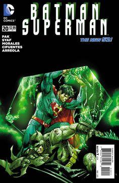 Weird Science: Batman/Superman #20 Preview