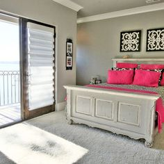 Pink Black And White Girls Bedroom With Design, Pictures, Remodel, Decor and Ideas - page 6