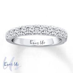 Kay - Ever Us Diamond Band 1 carat tw 14K White Gold $1599.99