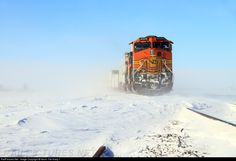 RailPictures.Net Photo: BNSF 4349 Burlington Northern Santa Fe GE C44-9W (Dash 9-44CW) at Hinckley, Illinois by Kevin The Krazy 1