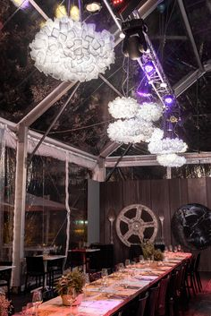 The exclusive lamps #Clizia by Adriano Rachele light up the corner #Roma Food Story inside the Auditorium Parco della Musica on the occasion of the Rome International Film Festival (16-24th of october 2015). #slamplacement www.slamp.com