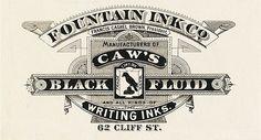 #vintage #label #typography
