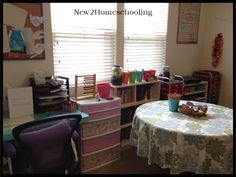 My Homeschool Room for Unit Studies, Lesson Plans, Homeschooling, How To Plan, Room, Bedroom, Lesson Planning, Rooms, Homeschool