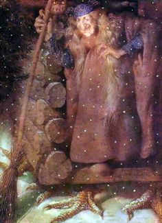 Gennady Spirin / Геннадий Спирин - The Frog Princess...Baba Yaga