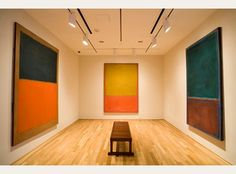The Rothko Room at the Phillips Collection. After meditating, check out the handwritten correspondence between Phillips and Rothko