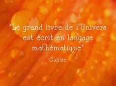 Le grand livre de l'Univers est écrit en langage mathématique